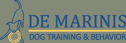 De Marinis Dog Training Logo