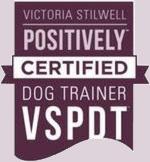 Victoria Stillwell Postiviely Certified Dog Trainer Logo